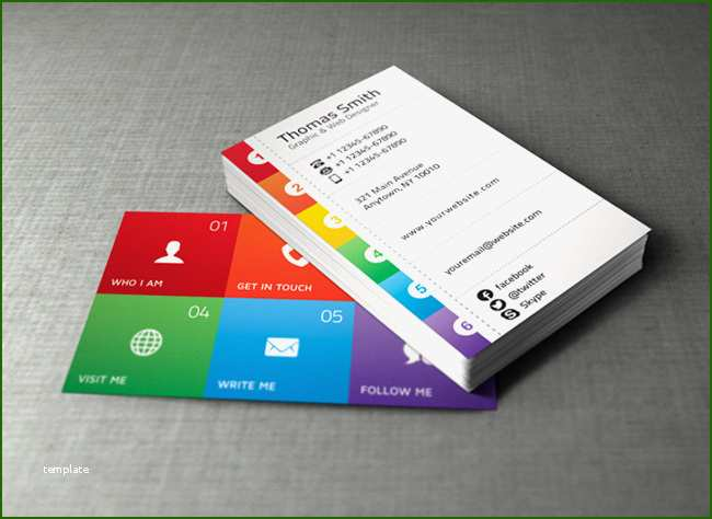 Awesome Personal Business Cards Template