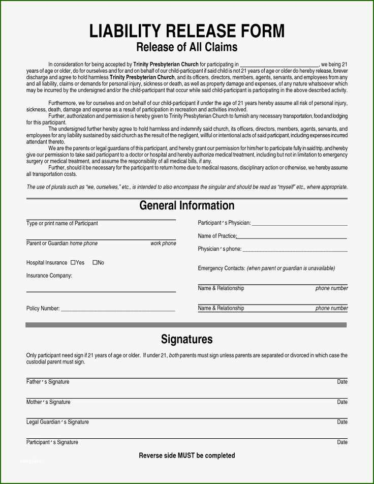 19 Phenomenal Waiver Of Subrogation Template that Will Wow ...